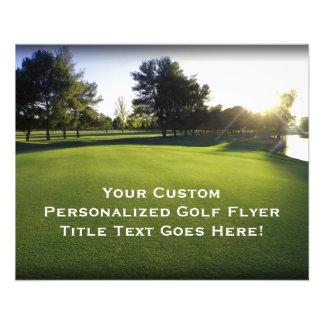 Golf Flyers & Programs | Zazzle