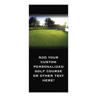 Green Golf Course at Dawn Rack Card