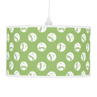 Green GOLF Decor Man Cave Modern Ceiling Lamp