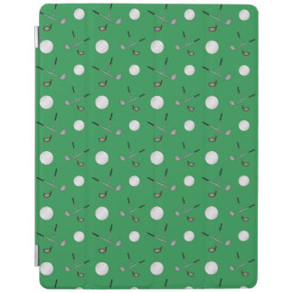Green golf pattern iPad cover