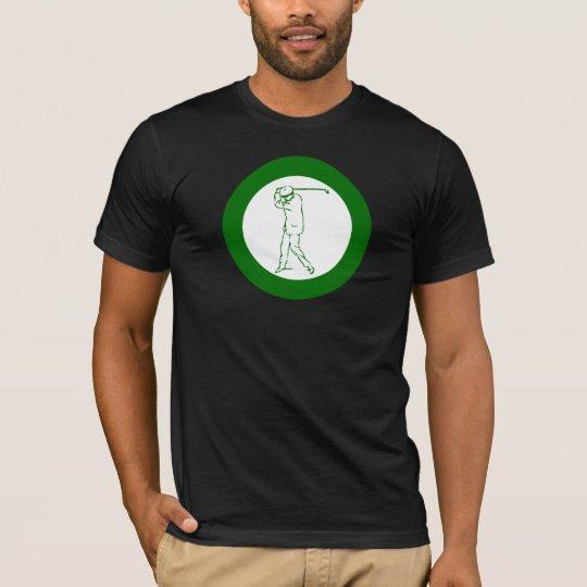 green golfer big golf swing T-Shirt