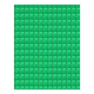Green Goodluck Crystal Pattern add TEXT IMAGE JPG Letterhead
