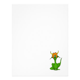 Green Goofy Dragon Flyers