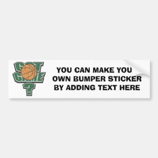 Green Got Game? T-shirts and Gifts Bumper Sticker