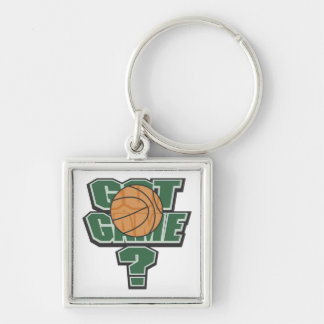 Green Got Game? T-shirts and Gifts Keychain