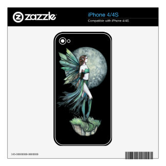 Green Gothic Fantasy Fairy Art by Molly Harrison Skins For The iPhone 4S