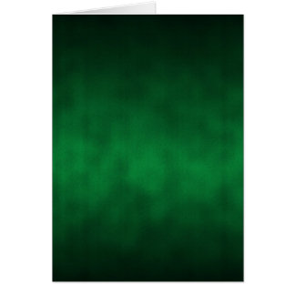 Green Gothic Ombre Background Art Card