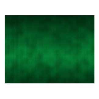 Green Gothic Ombre Background Art Postcard