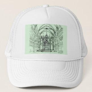 Green gothic Orensanz drawing Trucker Hat