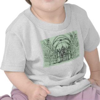 Green gothic Orensanz drawing Tshirt