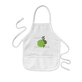 Green Gourmet Artichoke Kids' Apron