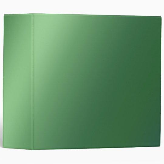 Green Gradient Binder