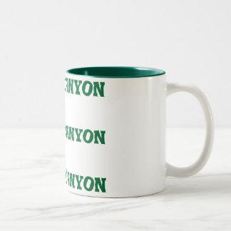 Green Grand Canyon Mug