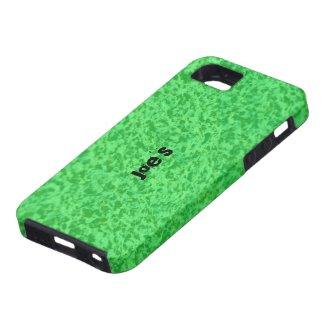 Green Granite iPhone 5 Covers
