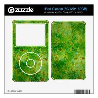 Green Granite iPod Classic Decal