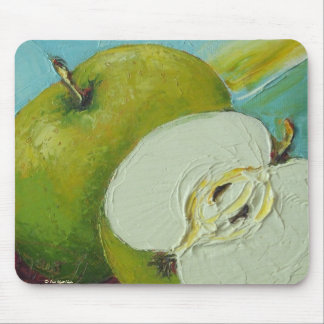 Green Granny Smith Apple Mouse Pad