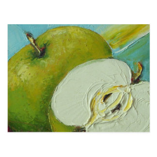 Green Granny Smith Apple Postcard