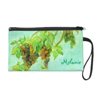 Green grape wristlet