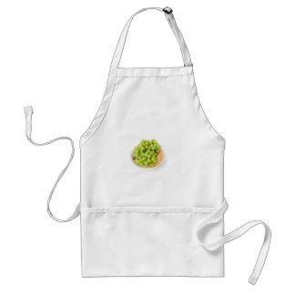 Green Grapes Adult Apron