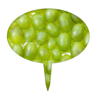 Green Grapes Cake Toppers