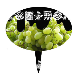 GREEN GRAPES PRODUCTS CAKE TOPPERS