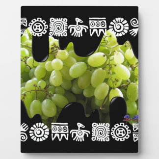 GREEN GRAPES PRODUCTS DISPLAY PLAQUE