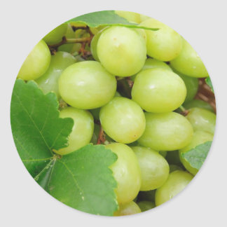 Green Grapes Stickers