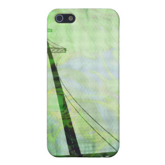 Green Graphic Storm Bridge Case For iPhone SE/5/5s