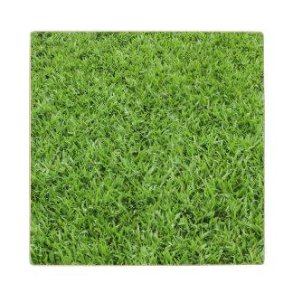 GREEN GRASS 2 WOODEN COASTER
