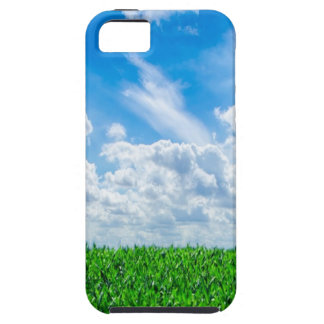 Green grass and blue sky iPhone SE/5/5s case