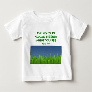 green grass baby T-Shirt