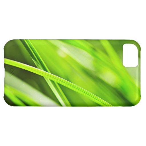 Green grass background iPhone 5C cover