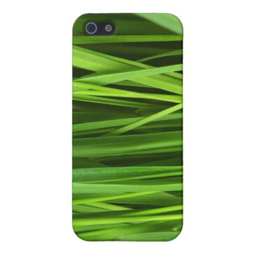 Green Grass background Cover For iPhone 5