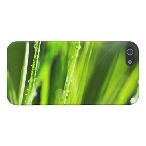 Green grass background iPhone 5/5S cover