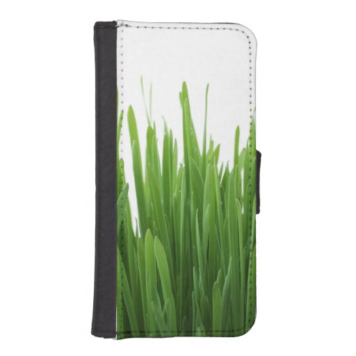 Green Grass background Phone Wallets