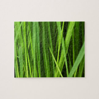 Green Grass background Jigsaw Puzzle