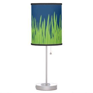 Green Grass Blue Desk Lamp
