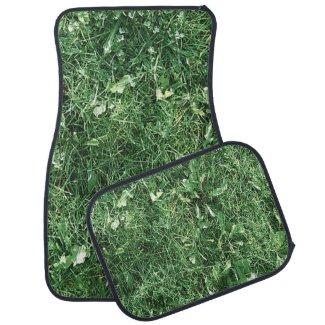 Green Grass Car Mats