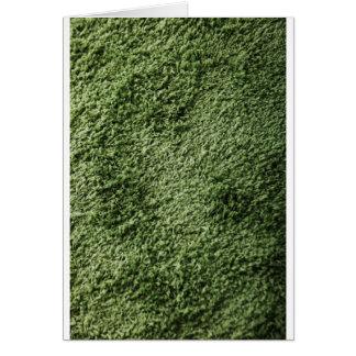 Green grass card