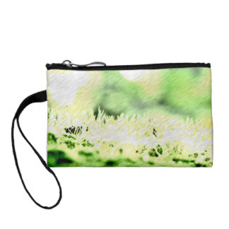Green Grass Color Hatch Coin Purses