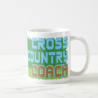Green Grass CROSS COUNTRY COACH Coffee Mug