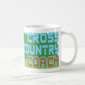 Green Grass CROSS COUNTRY COACH Classic White Coffee Mug