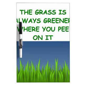 green grass Dry-Erase whiteboards