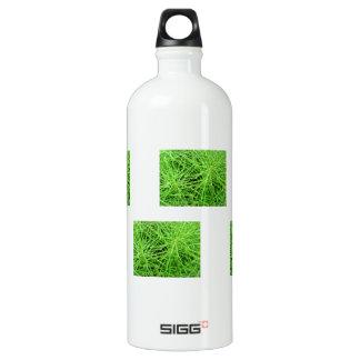 Green Grass Fireworks; No Text Water Bottle