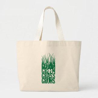 Green Grass Grows Jumbo Tote Bag