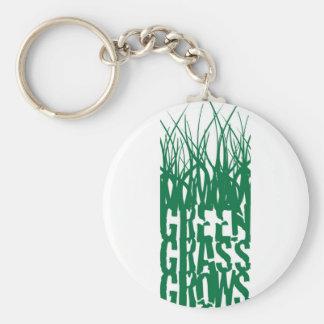Green Grass Grows Key Chain