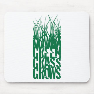 Green Grass Grows Mousepad
