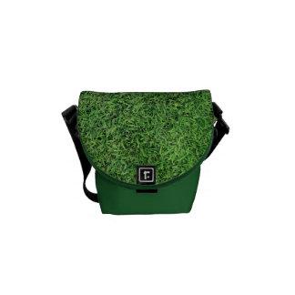 Green Grass Lawn Messenger Bag
