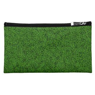 Green Grass Makeup Bag