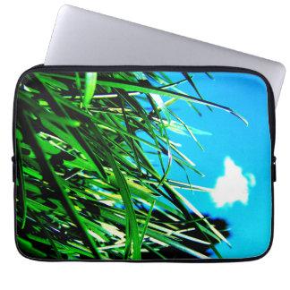 Green Grass Neoprene Laptop Sleeve 13 inch
